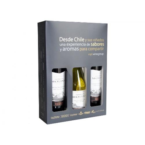Vinos, Castillo de Molina, 3 Botellas.  SKU 35502