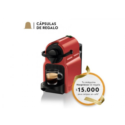 Cafetera Nespresso Inissia Red SKU 42180