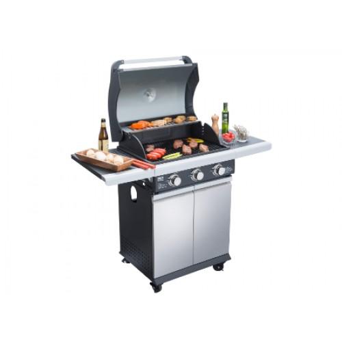 Parrilla Gas BBQ Grill BBQ301GCSS SKU 49029
