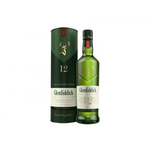 Whisky Glenfiddich 12 Años SKU 49853