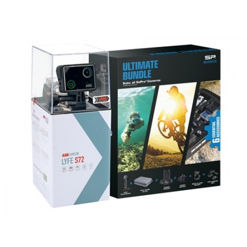 Camara AEE Lyfe Silver 4K + SP Gadgets Ultimate Bundle SKU 50122